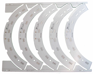Single-sided Aluminum PCB (IMS)